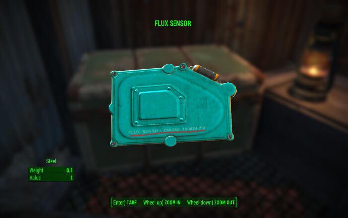 Flux Sensor Fallout 4 Alien